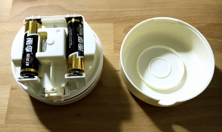 得力桌面吸尘器电池仓