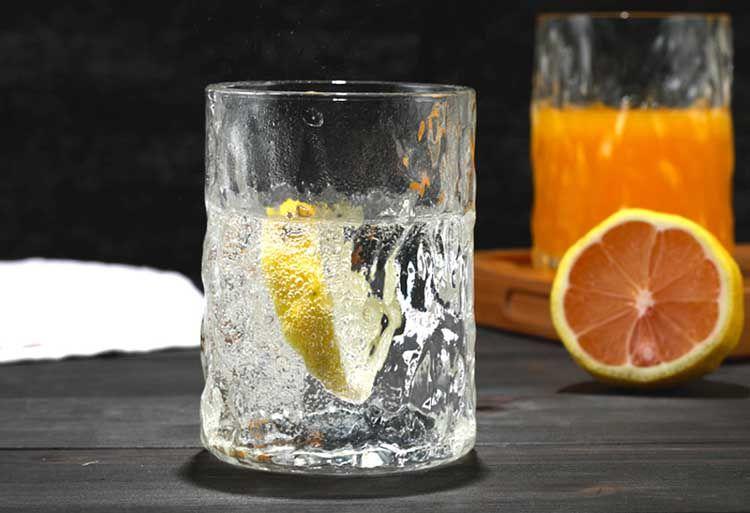 锤目纹玻璃杯
