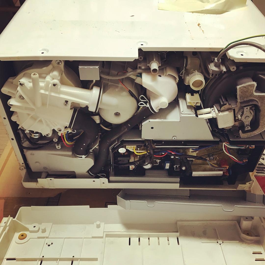 洗碗机拆机
