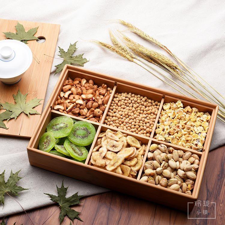 日式楠竹干果盒