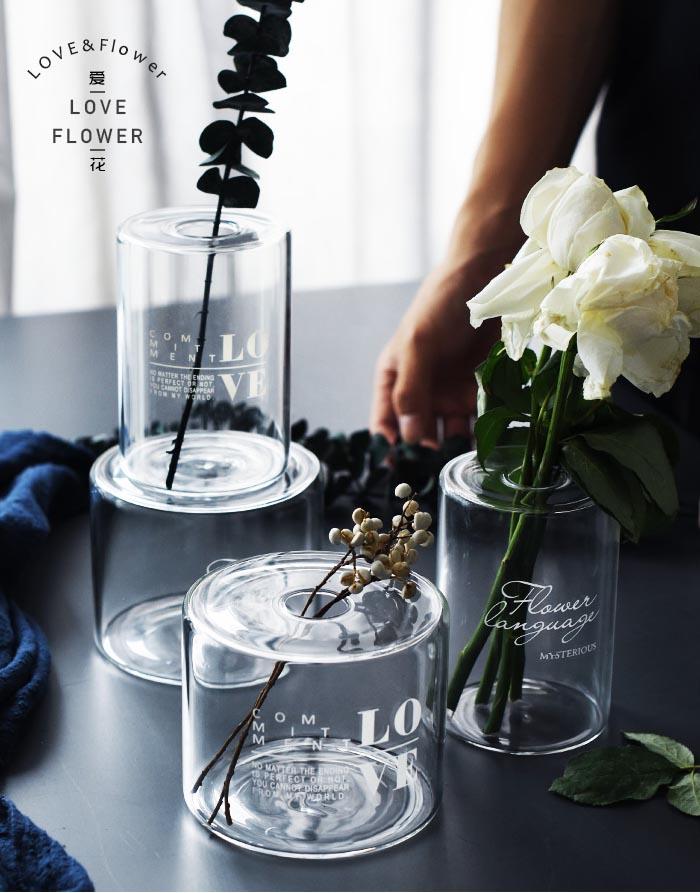 北欧灯工玻璃花瓶