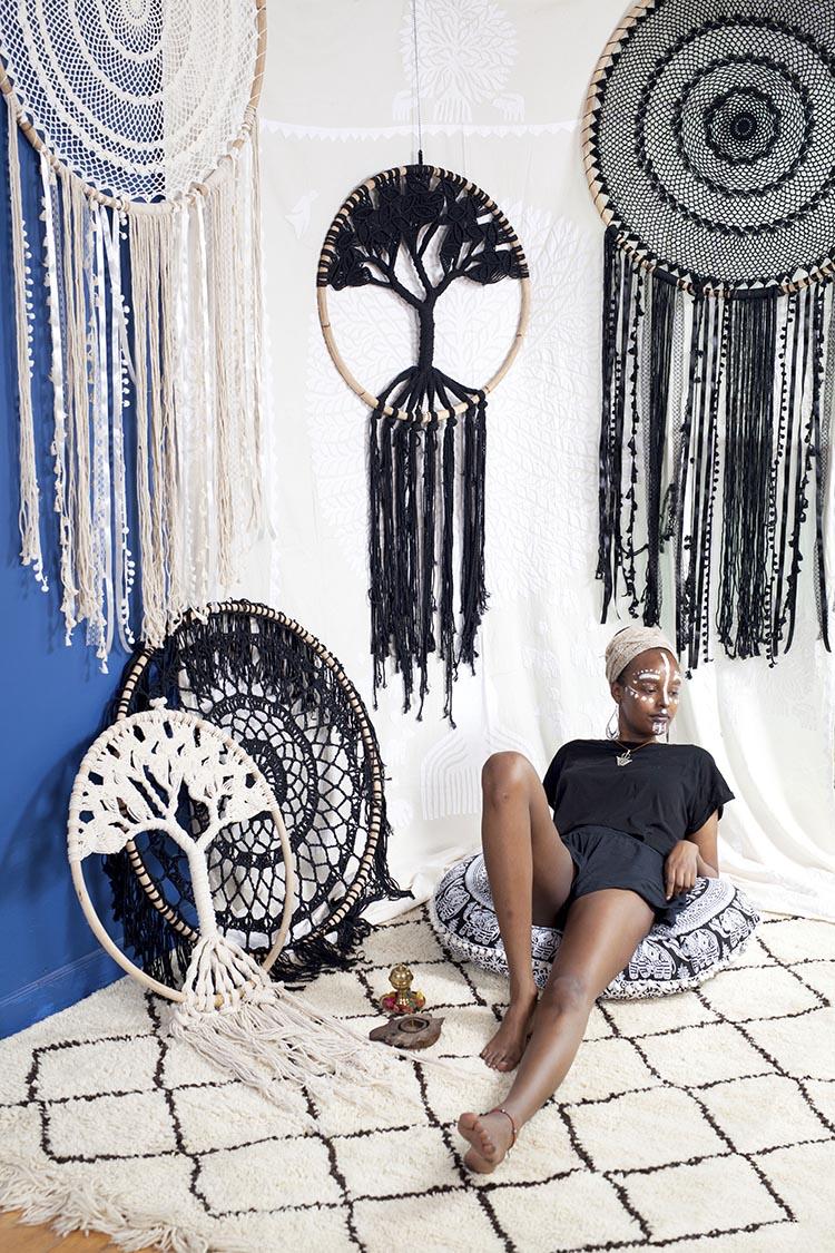 Beni Ourain Carpet 羊毛地毯