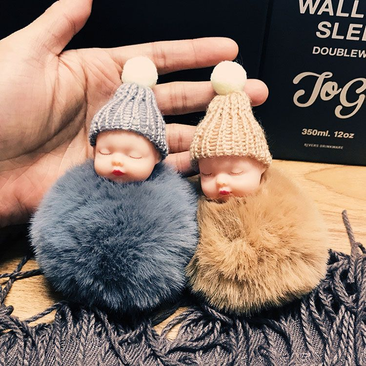 睡眠宝宝钥匙扣