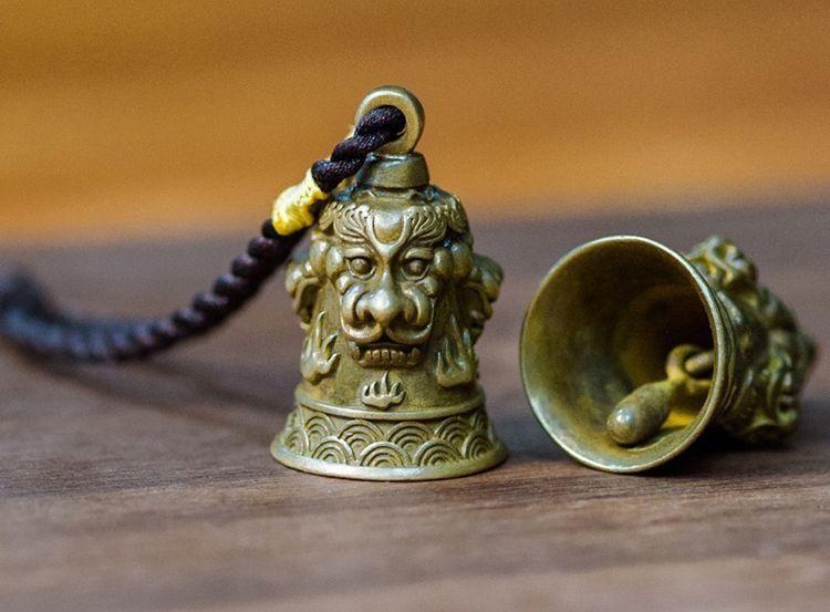 黄铜铃铛挂饰