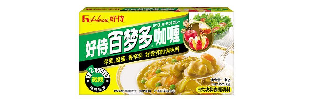 百梦多速食咖喱块