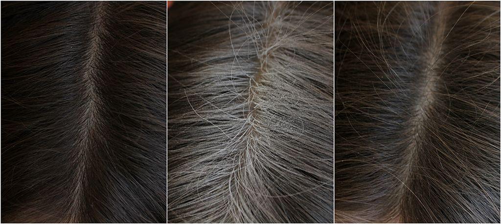 batise头发干洗喷雾效果图