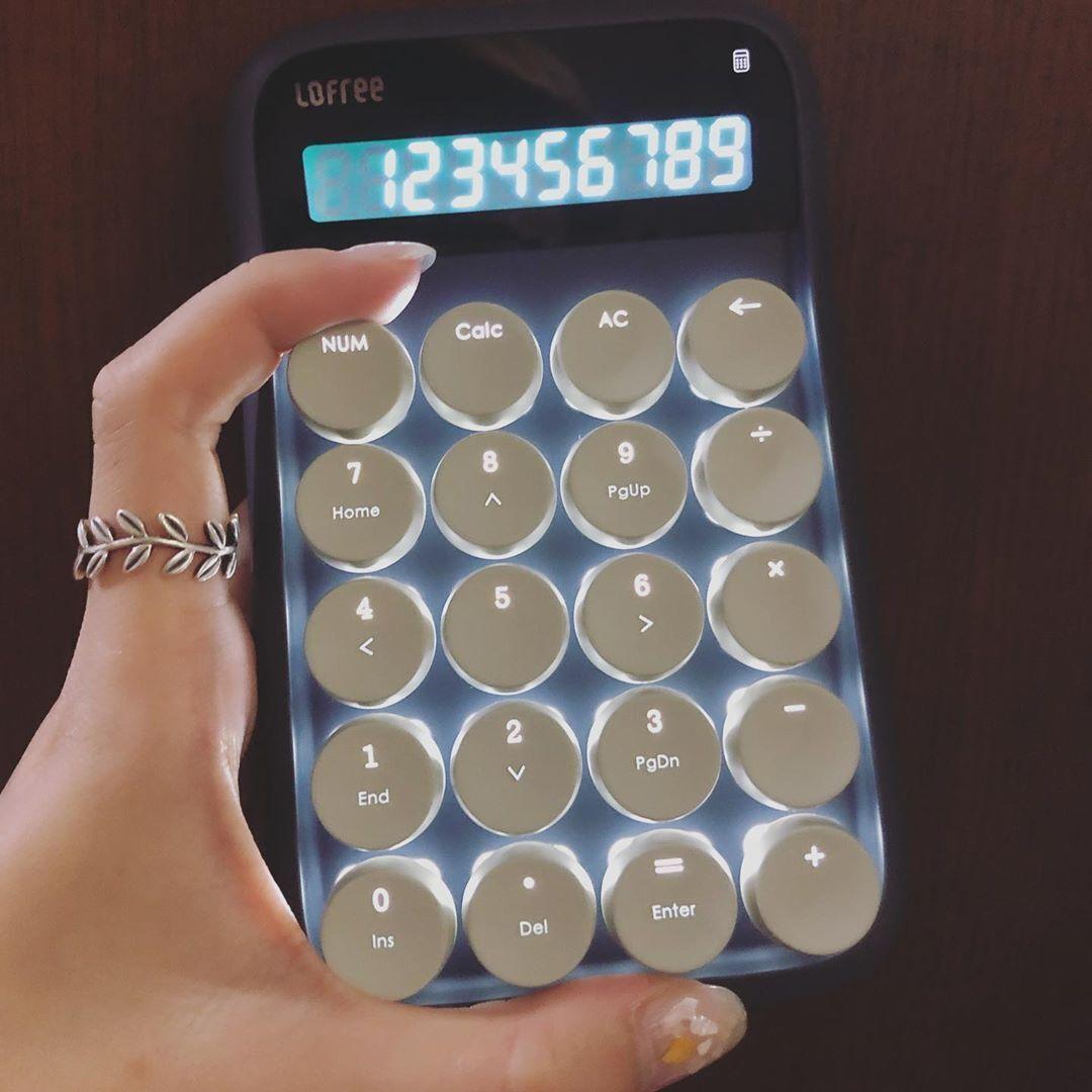 只有打字机键盘还不够,最科技的老灵魂 Lofree 要出计算器!