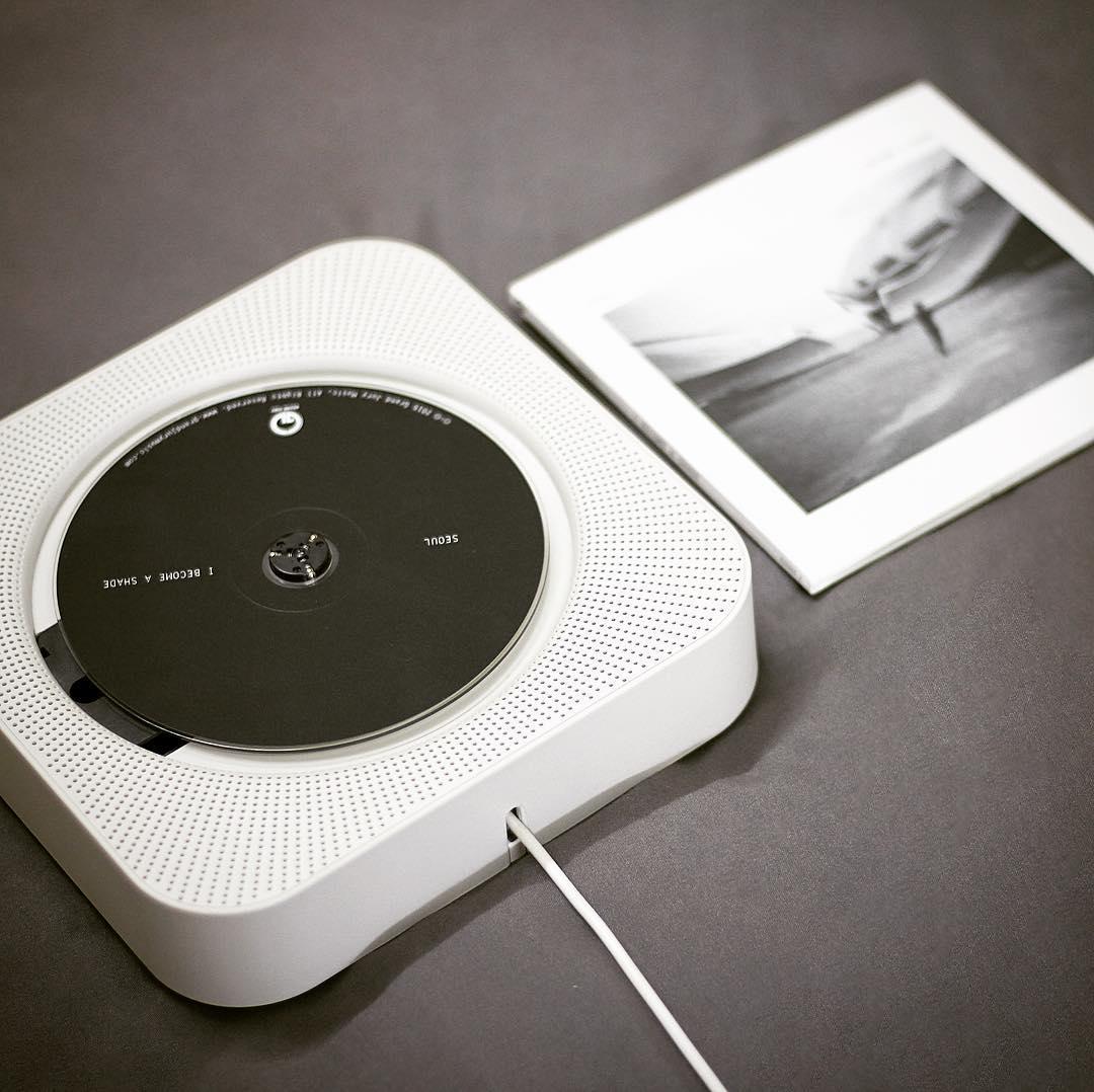 深泽直人为 MUJI 设计的 CD 机