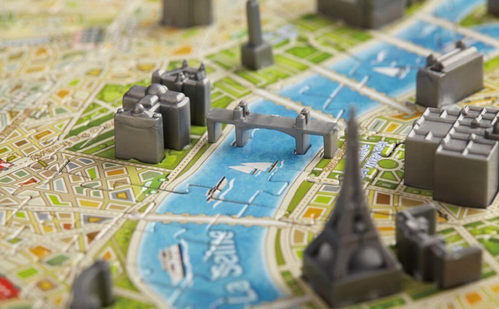 4D立体城市拼图