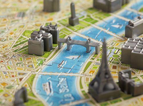 「4D 立体城市拼图」挑战你的拼图技巧,还能让你感受城市历史的变迁