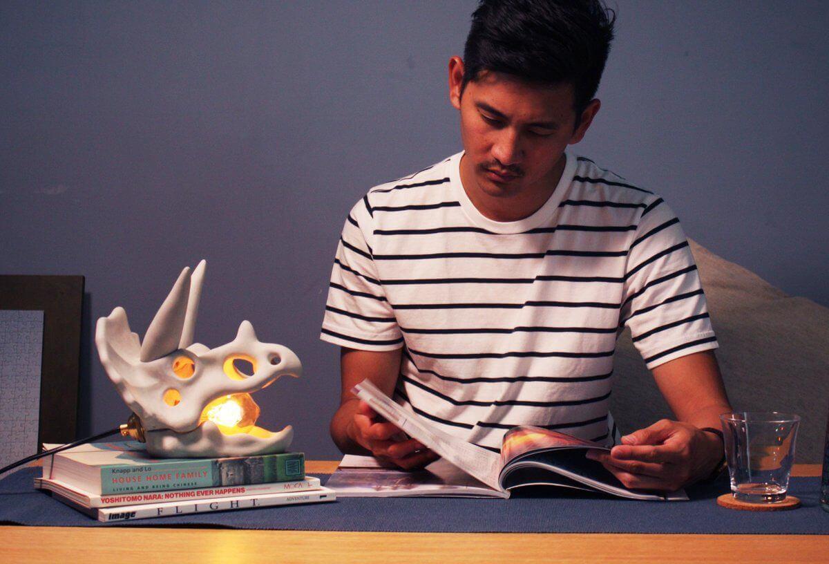 在书房用Fossil Light