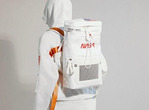 NASA 和 Heron Preston 合作,让你也能把太空服穿在身上