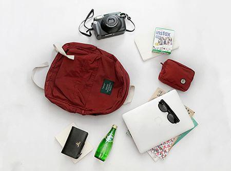 「四季出行轻便双肩包」一只被 53382 人收藏的原创品牌背包