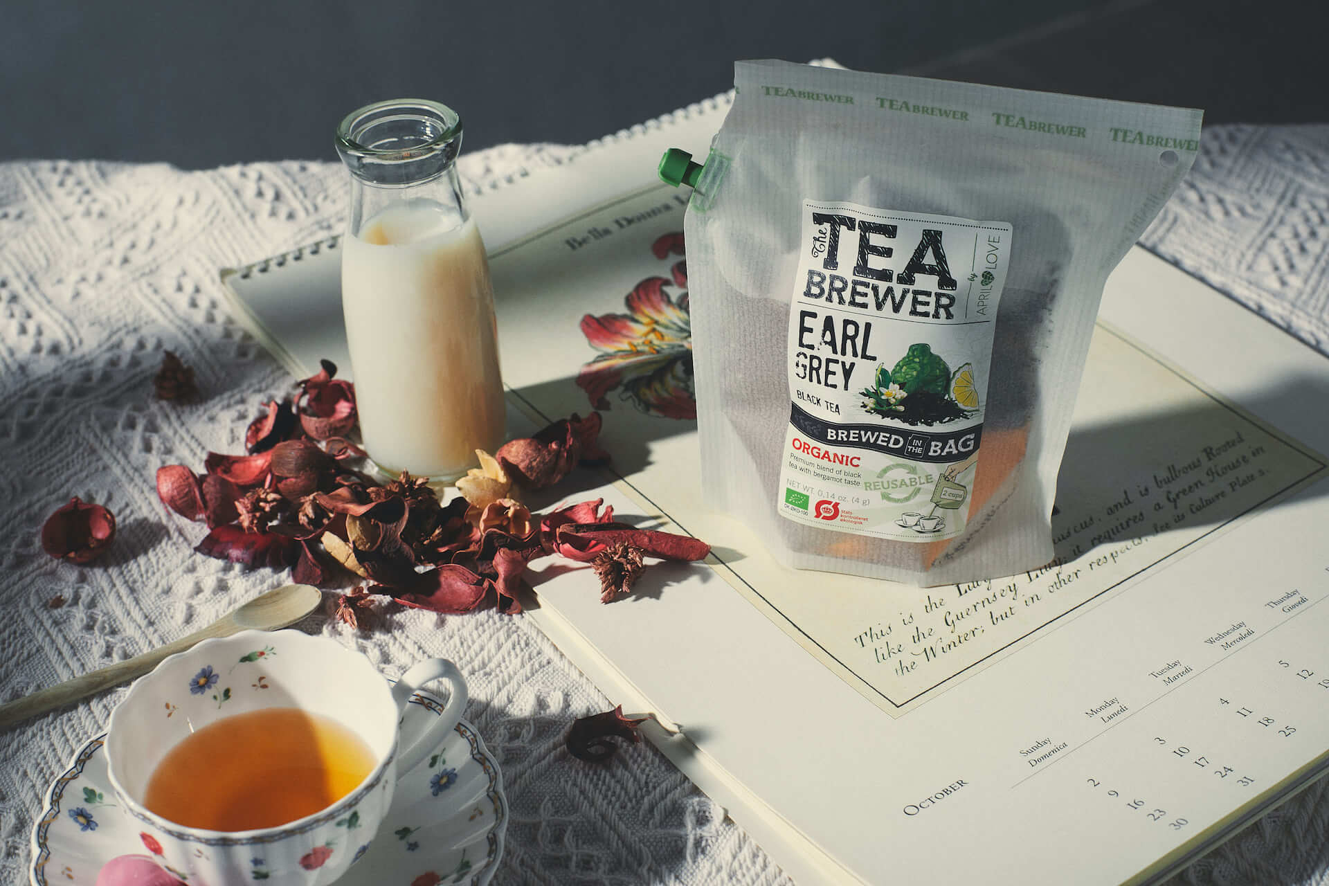 The Teabrewer 花茶冲煮袋