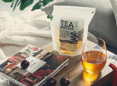 「The Teabrewer」花茶冲煮袋,让不懂泡茶的你也能泡出一杯好茶