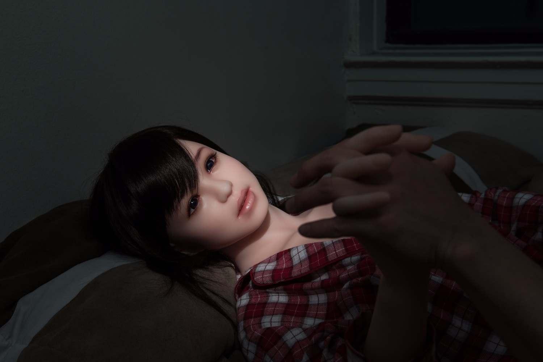 June Korea拍摄的充气娃娃