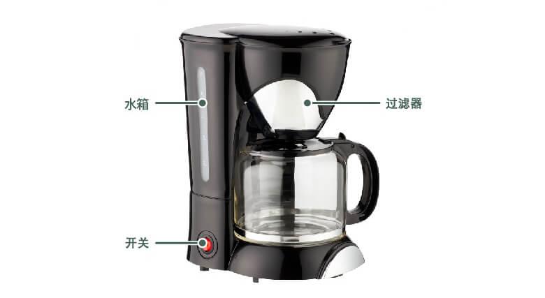 美式滴滤式咖啡机