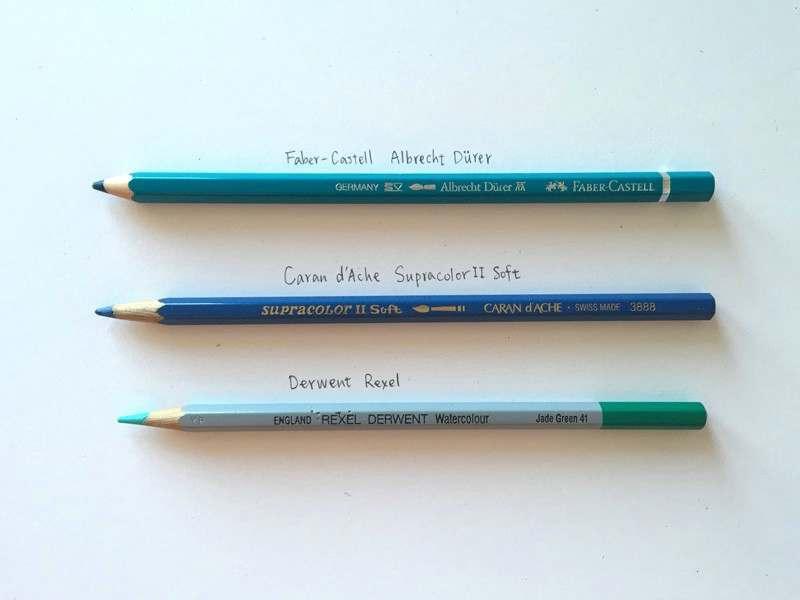 高品质的水性彩色铅笔