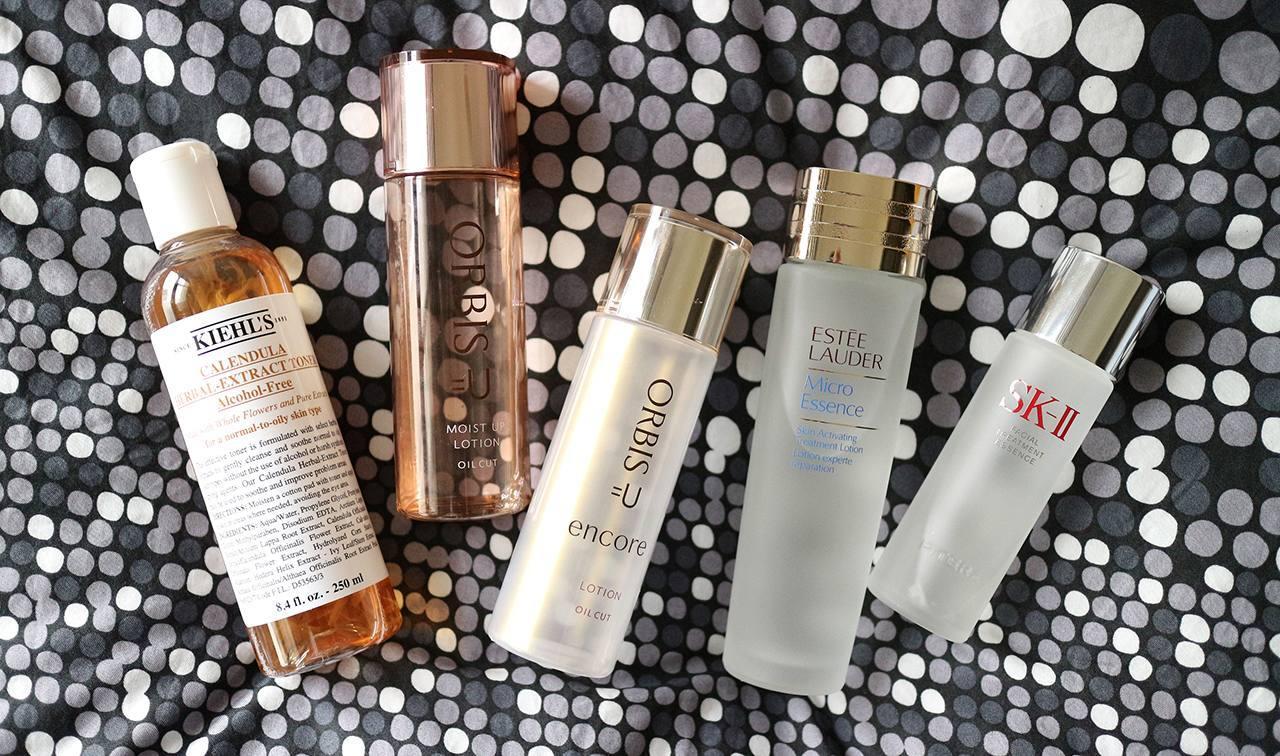 8种化妆水与精华液心得分享