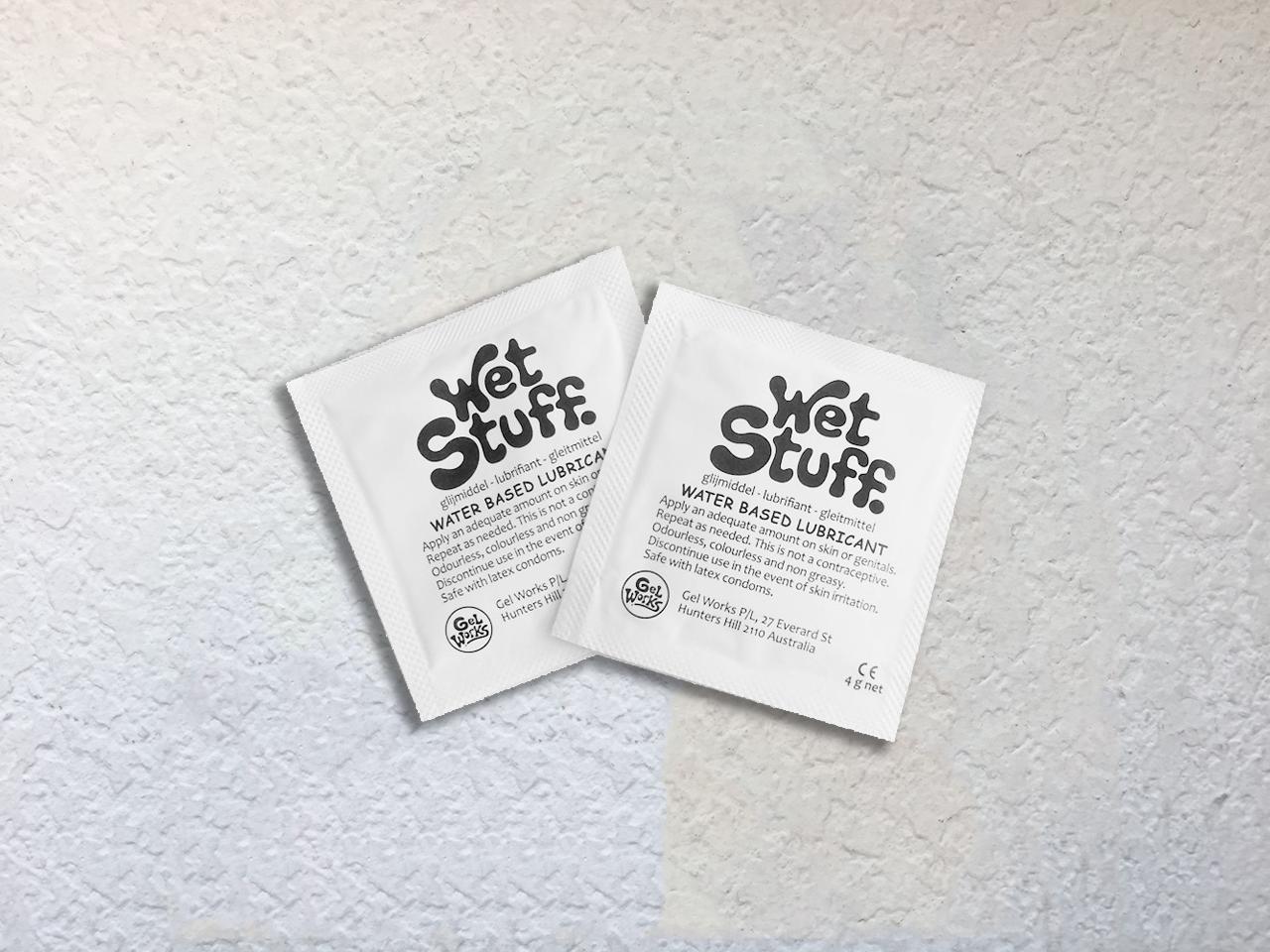 wet stuff 的便携装