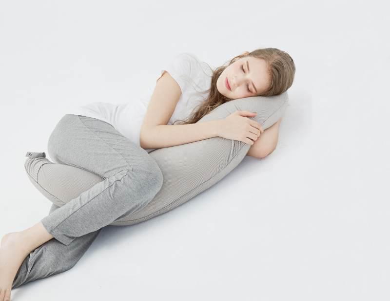 帮助调整怀孕侧睡姿-孕妇枕使用方法