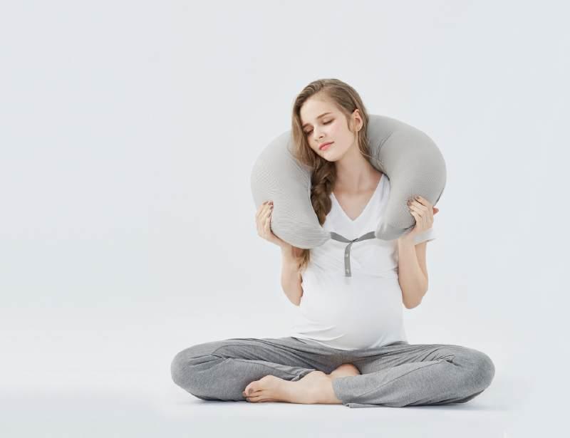 保护肩颈-孕妇枕使用方法