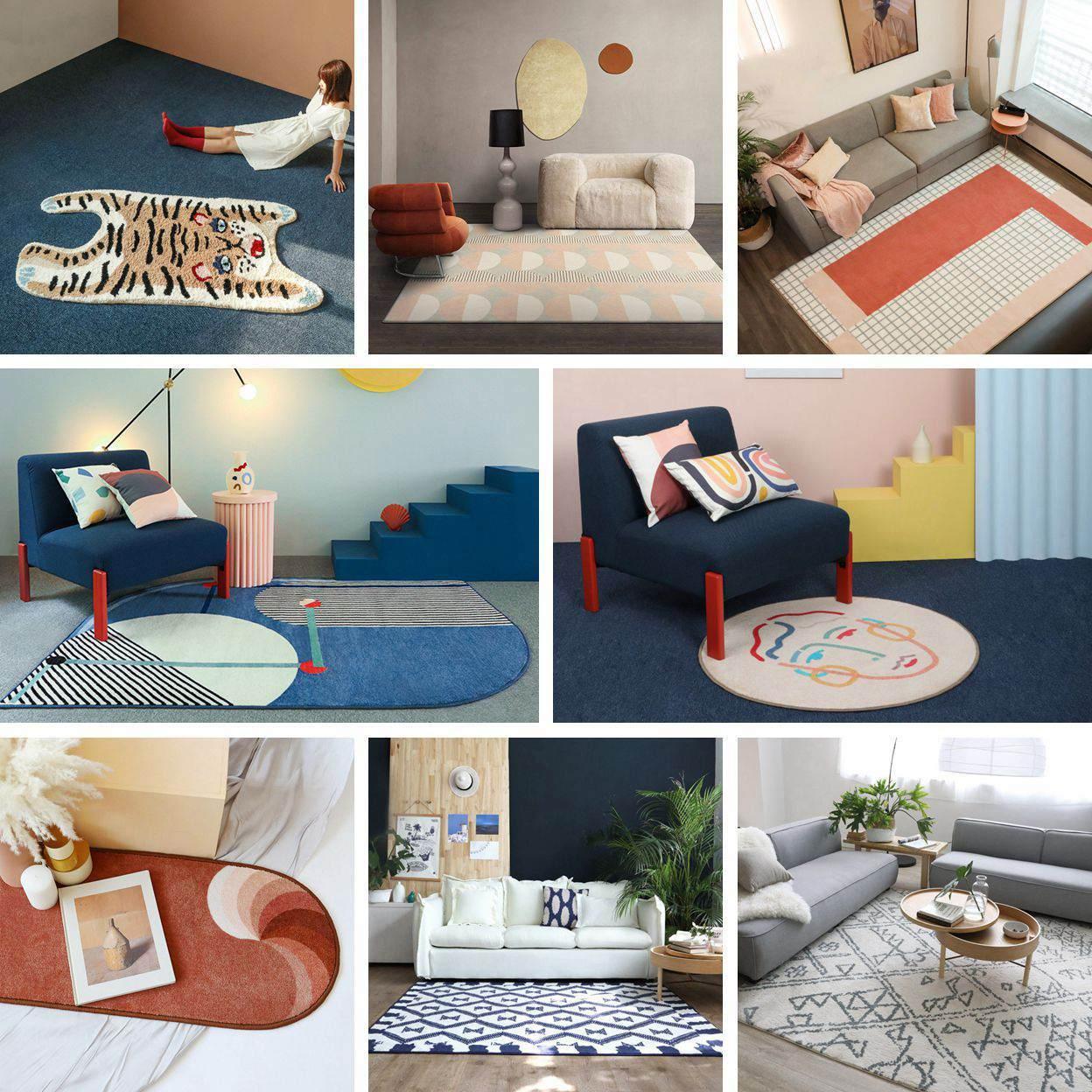 青山美宿的地毯