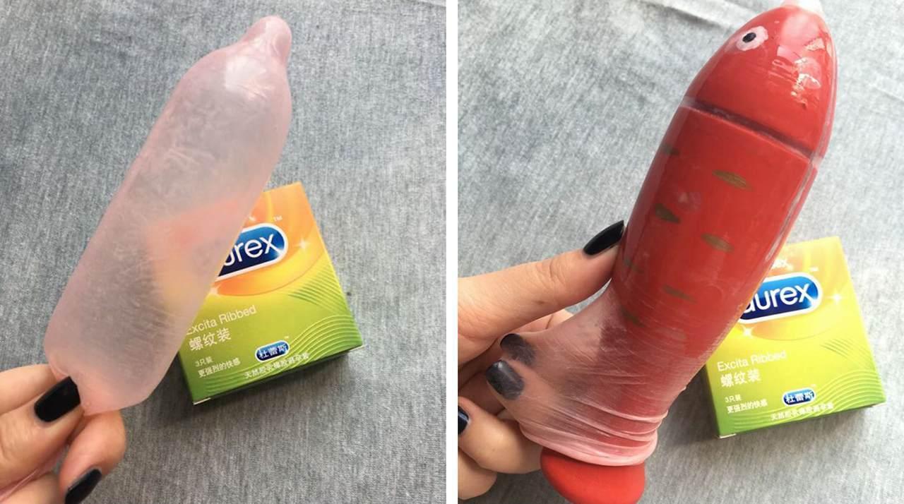 杜蕾斯螺纹型避孕套