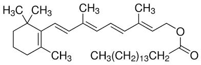 维生素 A 化学结构
