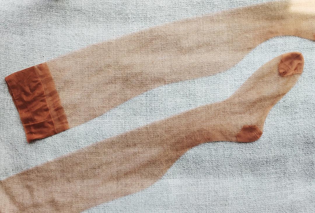 无弹力丝袜