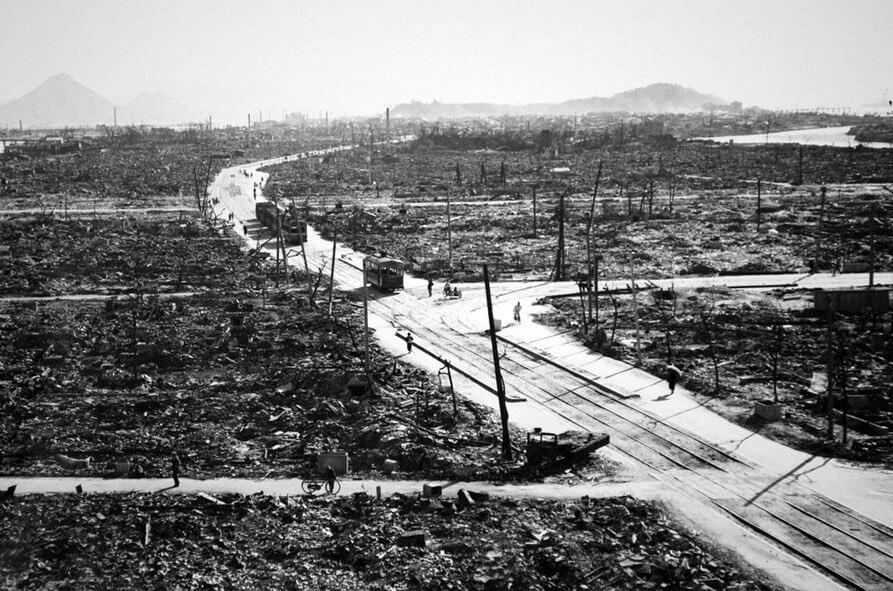 日本核爆炸以后的场景