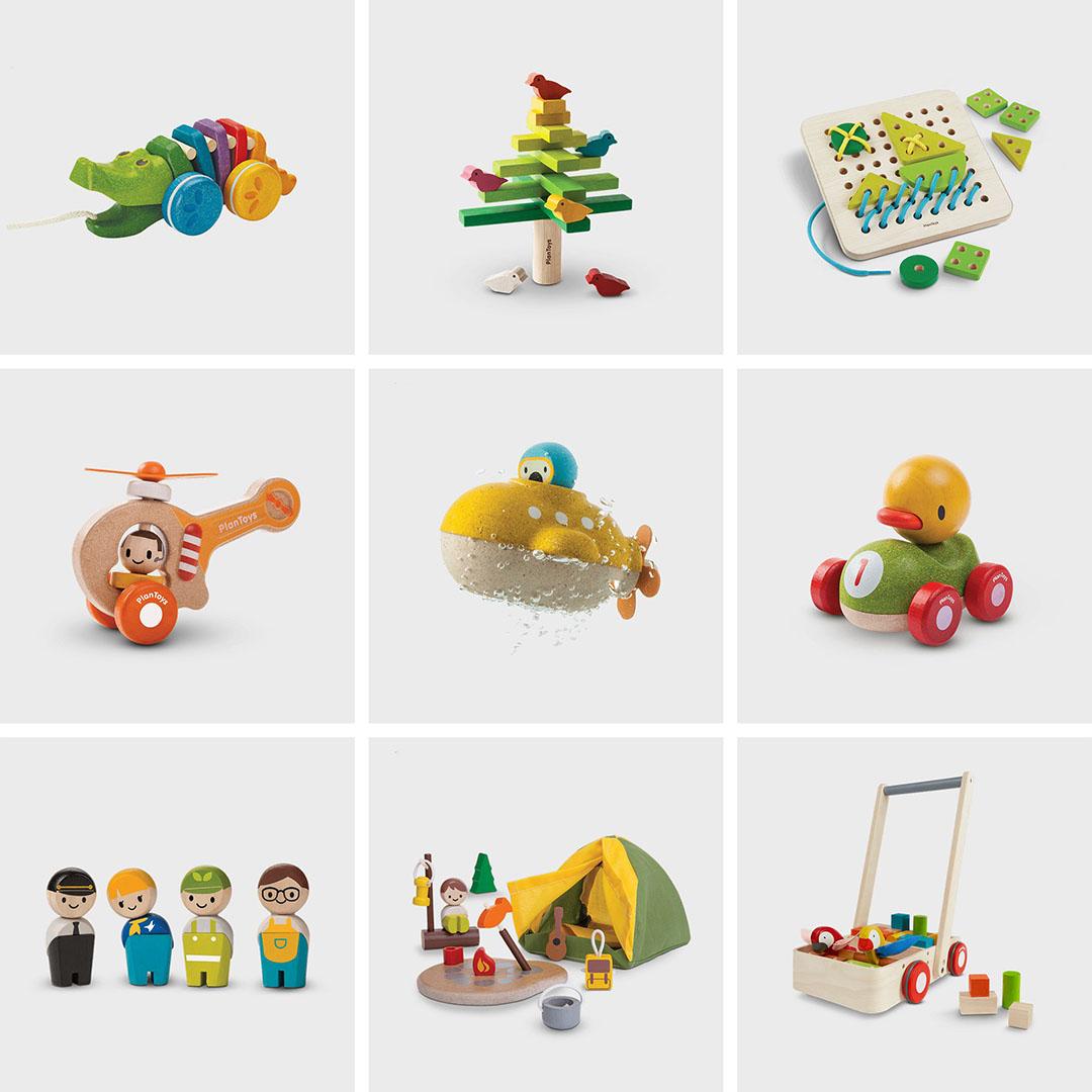 PlanToys STEM 玩具